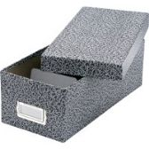 12 Units of Oxford Index Card Storage Boxes - Boxes & Packing Supplies