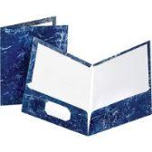 Oxford Marble Laminated Portfolios - Folders & Portfolios