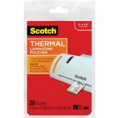 Scotch Business Card Size Thermal Laminating Pouch - Business cards