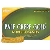 Alliance Rubber Pale Crepe Gold Rubber Bands - Rubber bands