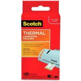 144 Units of Scotch Thermal Laminating Pouches, Business Card Size - Business cards