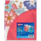 Avery Corner Lock Pocket Folder - Folders & Portfolios