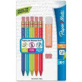 Paper Mate Triangular No.2 Mechanical Pencils Kit - Paper