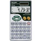 Sharp EL344RB Metric Conversion Travel Calculator - Calculators