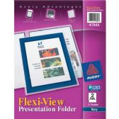 Avery Flexi-View Presentation Two Pocket Folder - Folders & Portfolios