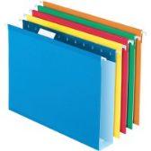 Pendaflex Box Bottom Colored Hanging Folders - Pens & Pencils