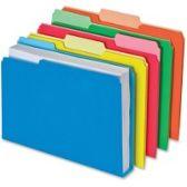 Pendaflex Double Stuff File Folders - Pens & Pencils