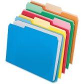 Pendaflex DoubleeStuff Cutless WaterShed File Folders - Pens & Pencils