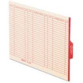 Pendaflex End Tab Out Guides - Pens & Pencils