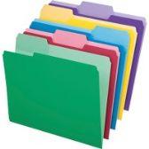Pendaflex Erasable Tab File Folders - Pens & Pencils