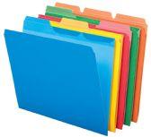 8 Units of Pendaflex File Folder - Ready Tab, 1/3 Tab, Asst, Letter, 50/Bx - Pens & Pencils