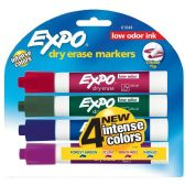150 Units of Expo Low-Odor Dry Erase Markers - Dry erase