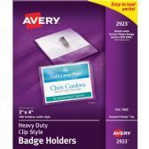 Avery Photo ID Badge Holder - Badge holder