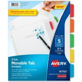 Avery Ultra Tab Heavyweight Paper Dividers - Paper