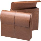Smead 71353 Leather-Like Expanding Wallets with Elastic Cord - File Folders & Wallets