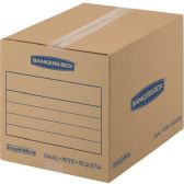Fellowes SmoothMove Basic Moving Boxes, Small - Boxes
