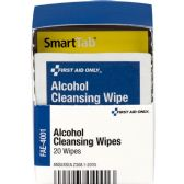 First Aid Only Alcohol Cleansing Pads - Writing