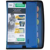 Five Star 7 Pocket Zipper Expanding File - File Folders & Wallets