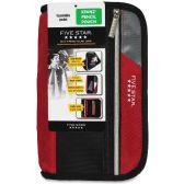 Five Star Xpanz Carrying Case (Pouch) for Pencil, Pen, Supplies - Assorted - Pens & Pencils