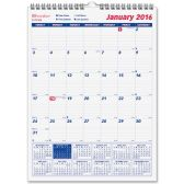33 Units of Brownline Monthly Wall Calendar - Calendar