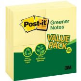 Post-it Greener Notes Recycled Pads - Writing