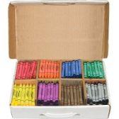 Prang Master Pack Regular Crayons - Crayon