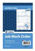 10 Units of Job Work Order Book, 3-Part, Carbonless, 33 ST/BK - Order book