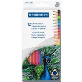Staedtler 1270 Triangular Colored Pencil - Pencils