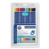 55 Units of Staedtler Ergosoft Watercolor Pencil Set - Pencils