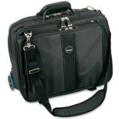 "2 Units of Kensington Contour Carrying Case (Roller) for 17"" Notebook - Gray - Notebooks"
