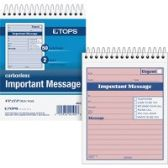 TOPS 1CPP Duplicate Important Message Book - Office Supplies