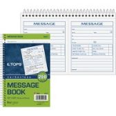 TOPS 2 Calls Per Page Phone Message Book - Office Supplies