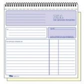 30 Units of TOPS 2-part Carbonless Wirebound Invoice Book - Office Supplies