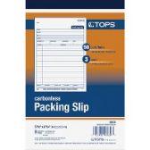 TOPS 3-Part Packing Slip Book - Office Supplies