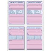 TOPS 4CPP Important Phone Message Book - Office Supplies