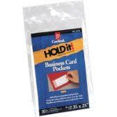 Cardinal Cardinal HOLDit! Business Card Pockets - Business cards