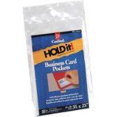 Cardinal HOLDit! Business Card Pockets - Business cards