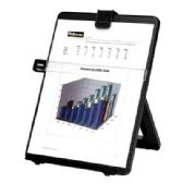 Fellowes Copyholder, Letter Sized, Non-Magnetic, Black - Office Accessories