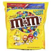 Candy, M&M's, Peanut  56 oz. (3 lbs., 8 oz.) - Office Accessories