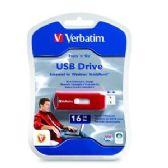Verbatim Store 'n' Stay Nano USB Flash Drive, 97464, 16GB, USB 2.0, Black - FLASH MEM
