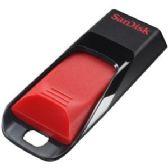 SanDisk Cruzer Edge USB Flash Drive, 16GB,USB 2.0, SDCZ51-016G-B35, Encryption, Password, Non-Retail - Flash Drives