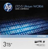 HP LTO, Ultrium-5, C7975W, 7A, 1.5TB/3TB, WORM, TAA - Data Media