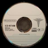 TDK CD-R 80 min, MEDICAL Grade, 700MB, Silver Thermal Printable - CD/DVD/BDR