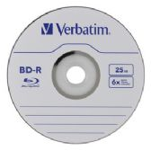 Verbatim BD-R, 98397, 25GB, 6X, Branded, 50PK Spindle, TAA - CD/DVD/BDR
