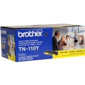 Brother Toner, TN110Y, Yellow, 1,500 pg yield - Imaging