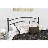 Woodstock Decorative Black Metal Queen Size Headboard - Headboards