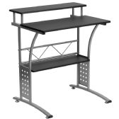Clifton Black Computer Desk - Computer