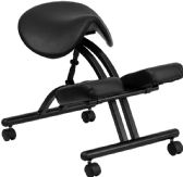 Ergonomic Kneeling Chair with Black Saddle Seat - Alternative