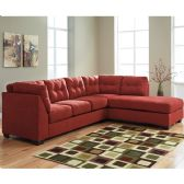 Benchcraft Maier Sectional with Right Side Facing Chaise in Sienna Microfiber - Sectionals