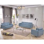 HERCULES Lacey Series Reception Set in Gray - Sofa Sets